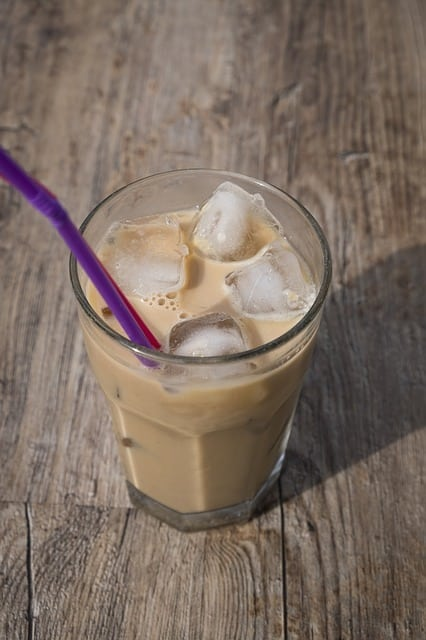 Mojito glacé au café