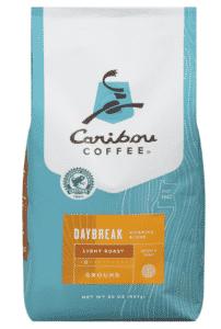 café à torréfaction légère